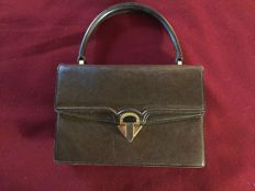 Gucci Bag in Boar Skin - Vintage, 1960s - Rare and in Excellent Condition