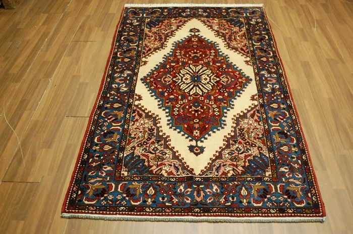 Top Persian Iran carpet Rudbar approx. 200 x 121 cm
