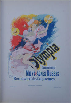 Jules Cheret - Olympia - 1896