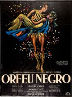 George Allard - Orfeu Negro + 4  photos and book - 1959