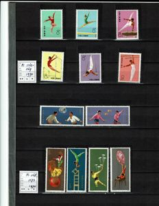 China - Gymnastics, Acrobatics (1974) and year book 2010
