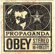 Shepard Fairey (OBEY) -  Obey Stereo Album Cover HPM