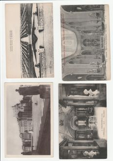 Collection 47 cartes postales anciennes France, 23 photos. Collezione 47 Cartoline Francia, paesaggistiche  e storiche. 23 foto