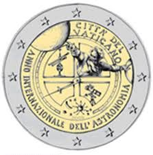 Vatican - 2 euro 2009 'International year of Astronomy'