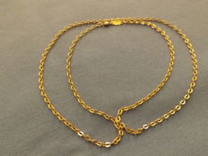 UNO-A-ERRE - 18 kt yellow gold necklace - 60 cm