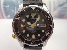 Citizen 'Promaster' Scuba Divers - Automatic Wrist Watch WR200M -  LEFT HANDED mens watch for Lefties. c 1990s'