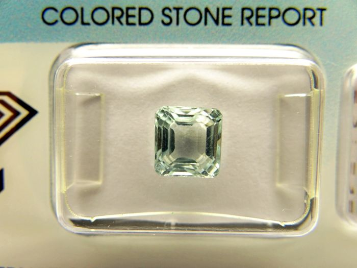 Aquamarine - 1,71 ct - no limit price