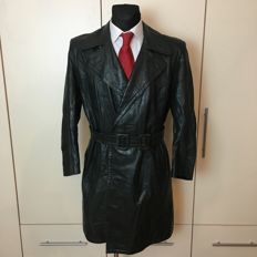 Post WW2 Heavy (4kg) German Horsehide Leather Coat