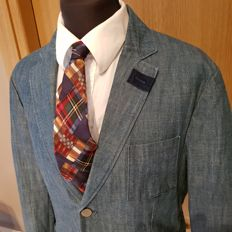 Mauro Grifoni - Denim Blazer - Japanese fabric