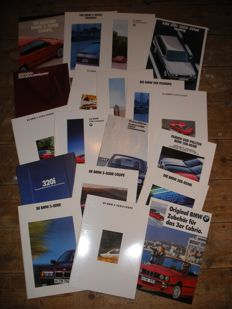 BMW 3 Series Brochures 1984-1994