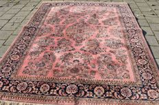 Marvellous oriental Sarough hand-knotted carpet - 300 x 200 cm around 1970. With COA.