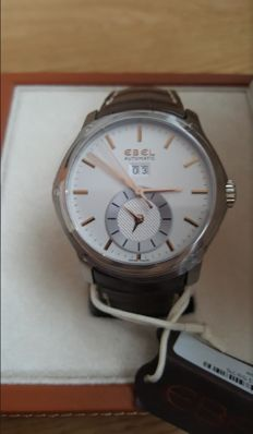 Ebel - Hexagon Dualtime GMT-neuf-garntie internationale 3 ans - 1215875 - Hombre - 2011 - actualidad