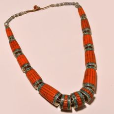 Vintage hand-crafted necklace from Nepal