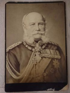 KAISER Wilhelm the First 1797 - 1888, Berlin - Large original photo portrait - German Emperor - King of Prussia