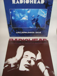 Radiohead: 2 Rare LP albums: Lollapalooza 2016 (Live) + Oxford Angels Are Friends Electric? (A Collection Of Acoustic Performances)