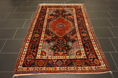 Unique Persian rug Malayer, Hamadan best quality wool, natural dyes, made in Iran, 150 x 200 cm