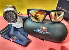 540RB Red Bull Casio Watch ESF and Red Bull sunglasses - spectacular infinity
