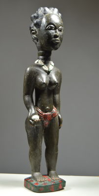 Colon figurine - BAULE - Ivory Coast