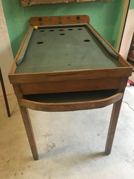 torck old pool billiard table first half of the 20th century belgium catawiki. Black Bedroom Furniture Sets. Home Design Ideas