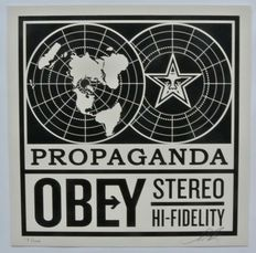 Shepard Fairey (OBEY) - Obey Stereo Album Cover Edition