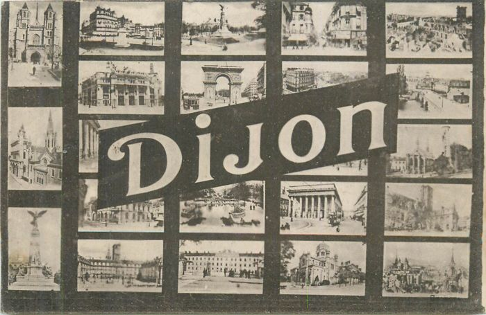 France - Department 21, Côte d'Or - Lot of 70 old postcards of the city of Dijon