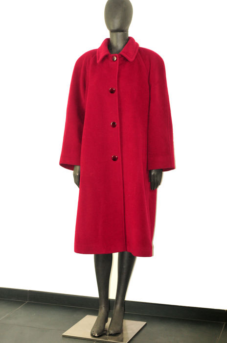 huge selection of 737ed 9fe1e Elena Miró Mohair Wool Coat - Cappotto - Catawiki