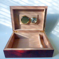 Elegant humidor  - beautiful wooden box for cigars