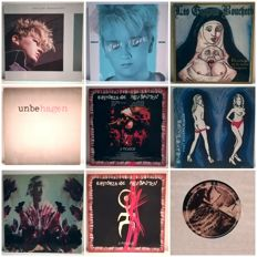 Einstürzen Neubauten, Leslie Garcon Boucher, Phillip Boa, Anne Clark, Lot of Indie, 8 Albums of Wave and Punk 12""
