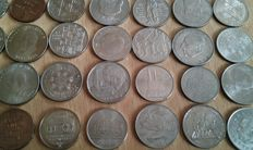GDR - 5, 10, 20 mark 1969-1990 (42 commemorative coins)