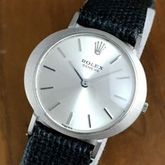 Rolex Cellini White Gold Ladies Manual Watch
