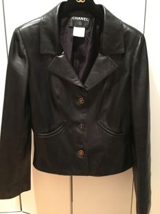 Chanel - Lambskin leather jacket