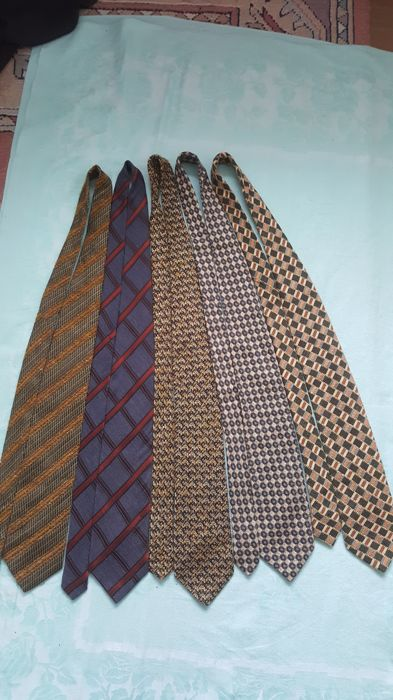 Ermenegildo Zegna - lot of five ties