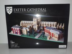 LEGO Certified Professional - Exeter Cathedral - Large model, 1197 pcs. - Number 314 of 500