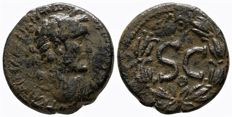 Roman Empire - ANTONINUS PIUS (138-161 AD), SYRIA, Seleucis and Pieria. Æ23 of Antioch - 23mm; 7.96g.