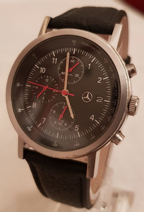 mercedes benz montre homme chronographe made in suisse 2010 catawiki. Black Bedroom Furniture Sets. Home Design Ideas
