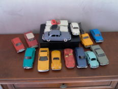 Norev - Scale 1/43 - Lot of 15 cars from the 1950/60s