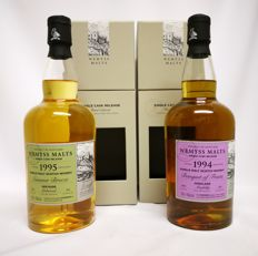 "2 bottles - Wemyss Single Cask Release - 21 years 1994-2015 Aberfeldy 46% abv. ""Banquet of Fruits"" 220 bottles & 20 years 1995-2015 Linkwood ""Summer Breeze"" 46% abv. 374 bottles."