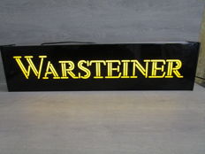 Warsteiner Beer - 3D - Double sided light box - 1990s