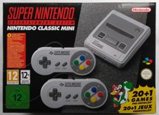 Nintendo SNES Classic Mini with 21 + 100 extra games installed: Mega Man X3, Hagane, Super Turrican 2, Castlevania Dracula X and more