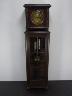"""Schwartzwalder"" (Black Forest) longcase clock - Germany - around  1920"