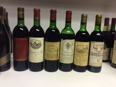 Mixed lot 70's Bordeaux - 6 bottles