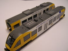 Fleischmann H0 - 4423 - Two part diesel train set Series Lint 41 of the firm Syntus