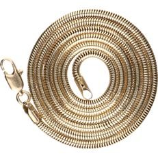 14 kt - Yellow gold link necklace - length: 47.5 cm