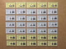 35 x 99.9 silver ingots  ACB each certified of which 10 x pyramid limited edition bullion package USA!