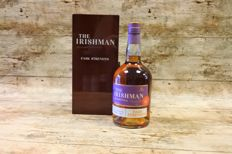 Irishman Rare Cask Strength in original luxury wooden case