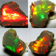 Premium Quality Flawless Welo Opal - 16 x 13 x 12.5 mm - 13.70 ct
