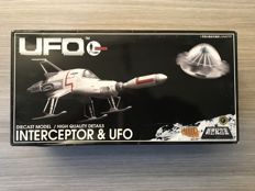 Product Enterprise/ Carlton - Gerry Anderson UFO INTERCEPTER Diecast Model Set Aoshima Japan - 2004