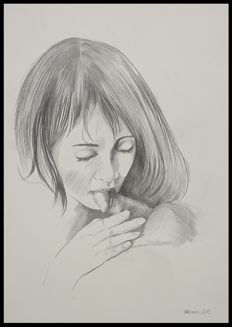 Porn art; Nicole - Soft Tongue - 2015