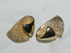Vintage clip-on earrings Christian Dior