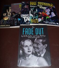 Collection Of Gotham Central Trade Paperbacks + The Fade Out - Ed Brubaker